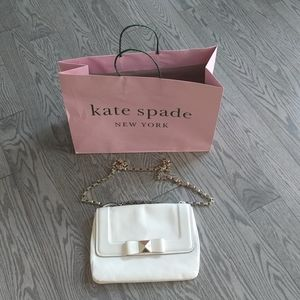 Beautiful genuine leather bag by Kate Spade 🍀🍀🌸